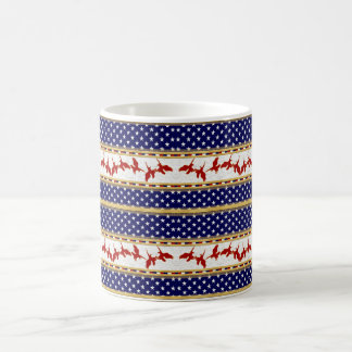 Red Bad Eagle American Stars Mug