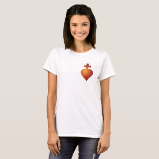 Red Badge of the Sacred Heart Women's T-shirt