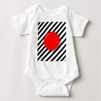 Red ball baby bodysuit