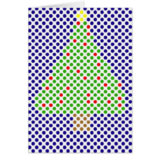 Red Ball tree Greeting Card