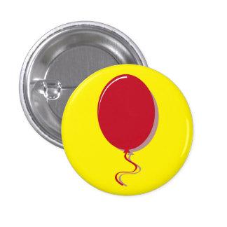 Red Balloon 1 Inch Round Button