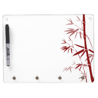 Red Bamboo Dry-Erase Boards