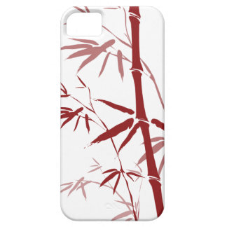 Red Bamboo iphone 5 Case