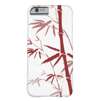Red Bamboo iphone 6 Case Barely There iPhone 6 Case