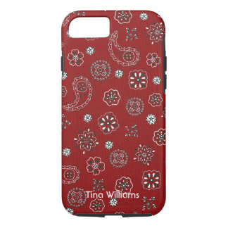Red Bandana iPhone 7 case