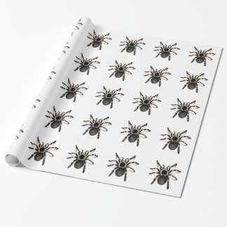 Red Banded Tarantula Spider Wrapping Paper
