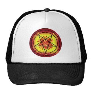 Red Baphomet Trucker Hat