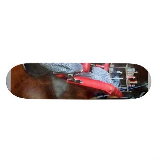 Red Barber Chair Skate Board