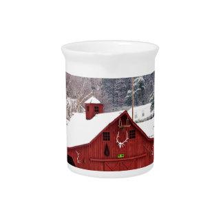 red barn beverage pitchers
