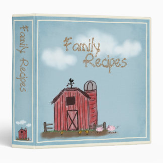 Red Barn Farm Binder