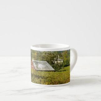 Red Barn in a Vineyard Espresso Cup