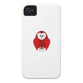 Red Barn Owl Phone Case