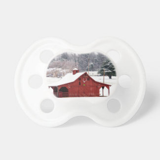 red barn pacifier