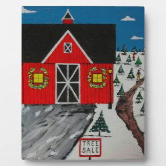 Red Barn Tree Farm Plaque