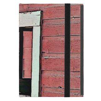 Red Barn Window iPad Mini Cover