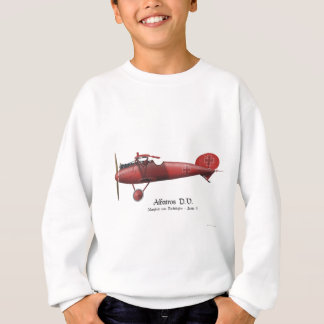 Red Baron aka Manfred von Richthofen and his plane Sweatshirt