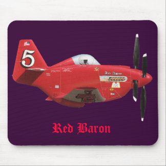 Red Baron Mouse Pad