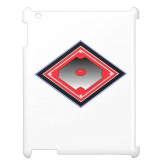 Red Baseball Diamond iPad Cases