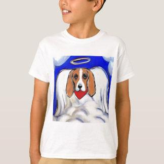 Red Bassett Hound Angel T-Shirt