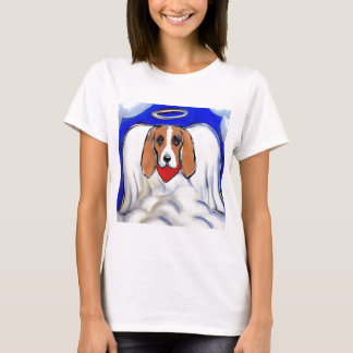 Red Bassett Hound Angel T-Shirt