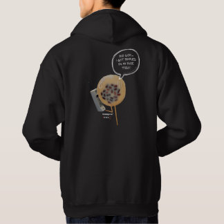 Red Bean Pudding | Black Men Hoodie