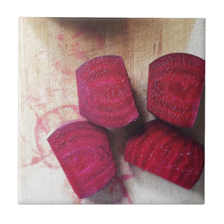 Red Beets Tile