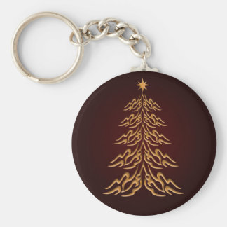 Red Bell  Christmas Tree Key Chain