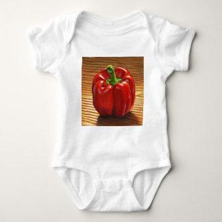 Red Bell Pepper Baby Bodysuit