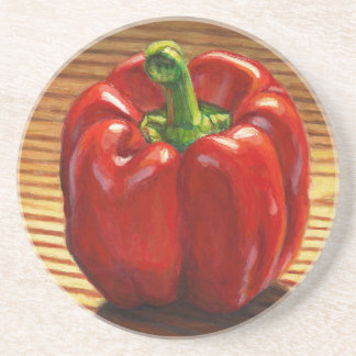 Red Bell Pepper Coaster