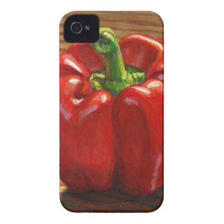Red Bell Pepper iPhone 4 Case