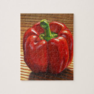 Red Bell Pepper Jigsaw Puzzle