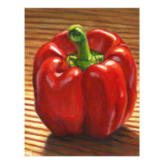 Red Bell Pepper Letterhead