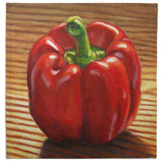 Red Bell Pepper Napkin