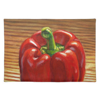 Red Bell Pepper Placemat