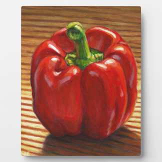 Red Bell Pepper Plaque