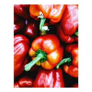Red Bell Peppers Letterhead