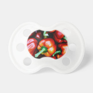Red Bell Peppers Pacifier