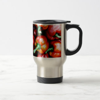 Red Bell Peppers Travel Mug
