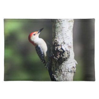 Red Bellied Woodpecker Cloth Placemat
