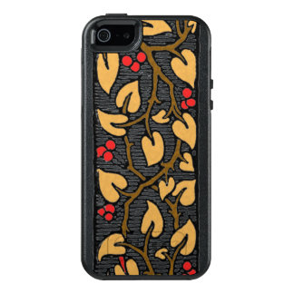 Red Berries and Leaves on the Vine OtterBox iPhone 5/5s/SE Case