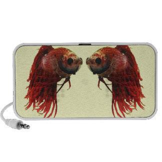 Red Betta Fish Speaker