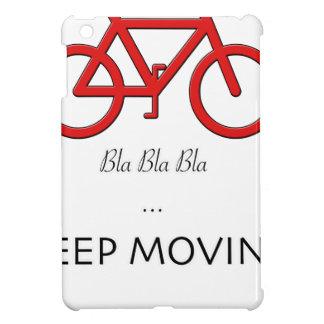 red bicycle quote iPad mini cases