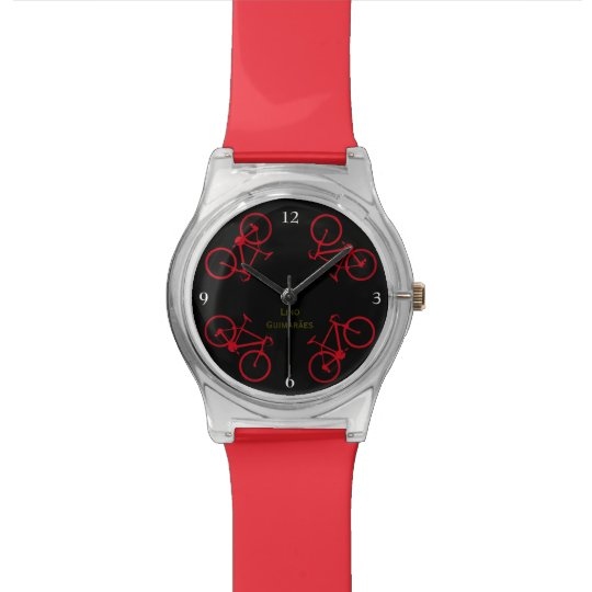 red bikes watch
