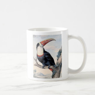 red billed toucan coffee mug
