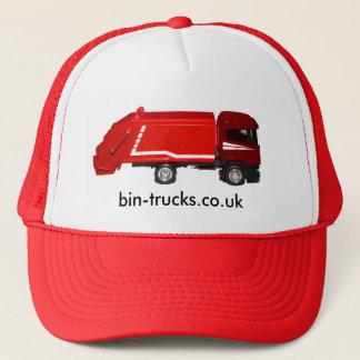 red bin truck baseball cap