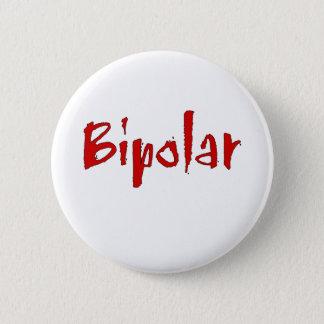 Red Bipolar 2 Inch Round Button