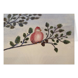Red Bird All Occassion Greeting Card