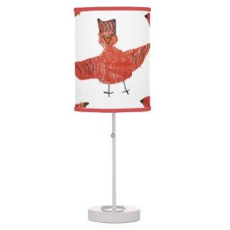 Red Bird Lamp