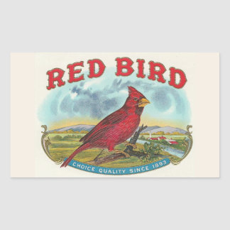 Red Bird Sticker
