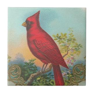 Red Bird Tile
